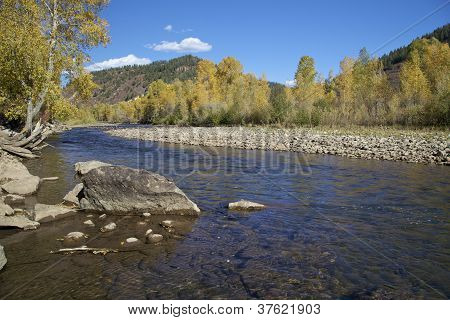 Dolores River Colorado in Fall