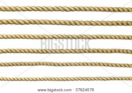 Seamless Golden Rope