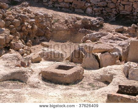 The necropolis of the Phoenician colony of Motya
