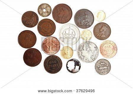 Old scarce Australian coins