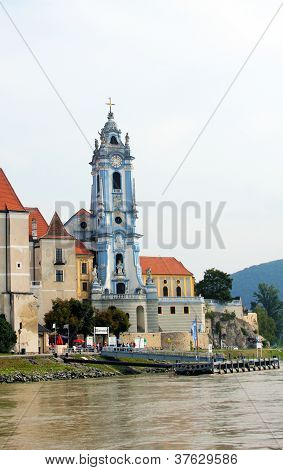 The beautiful Durnstein abbey