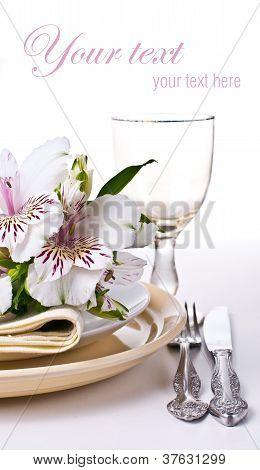 Plantilla de configuración de tabla