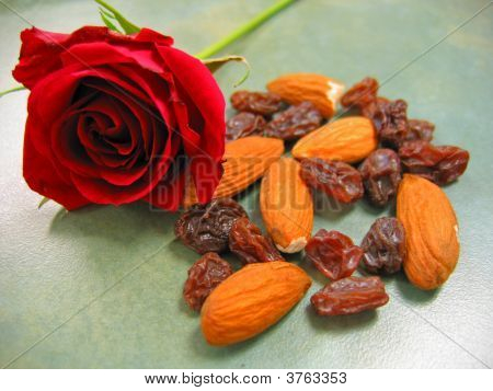 Rose And Almonds