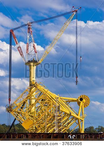 Oil Extraction Platform