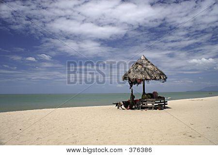 Abandon Hut By The Sea