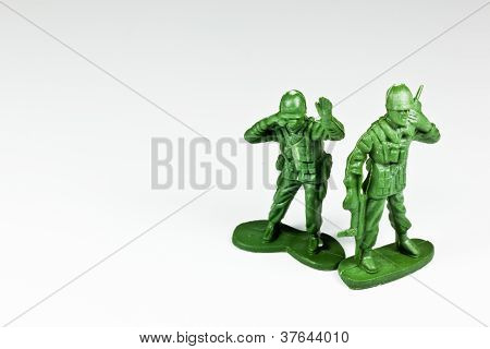 The Green Toy Soldiers