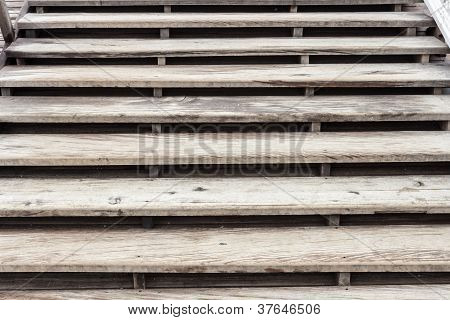 Old Wooden Stair.
