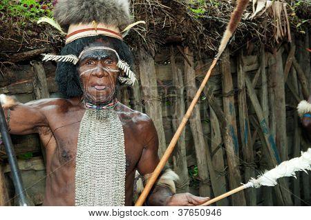 Dugum Dani Leader Portrait