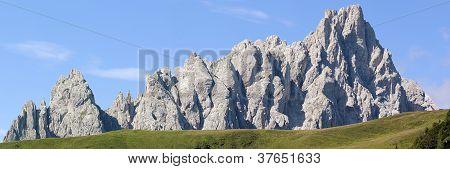 morning view from Karnische Alpen or Alpi Carniche - Crode Dei Longerin - Dolomiti Italy