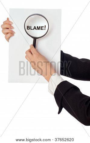 relatório de culpa