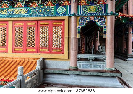 Chinese Temple Window