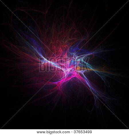 Colorful Burst Fireworks