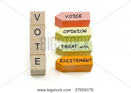 Vote Excitement Blocks
