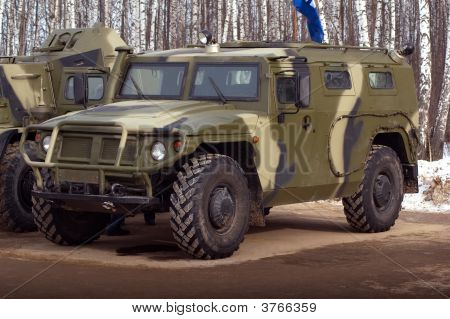 The Russian Military Car.