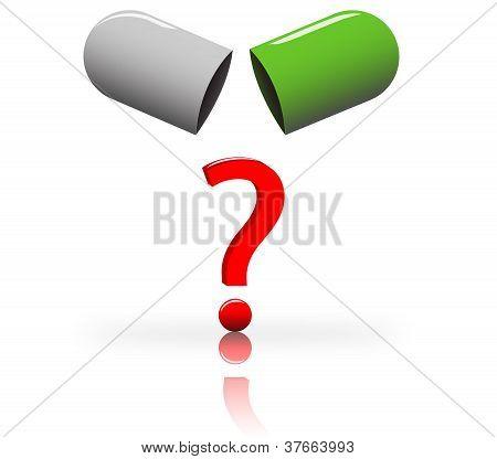 Pille zu öffnen