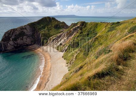 Beach at Durdle Door Dorset