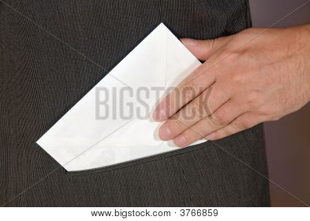 Envelope In Pocket