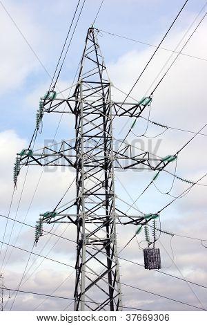 High-voltage Column