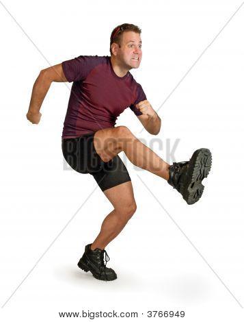 Kicking Man