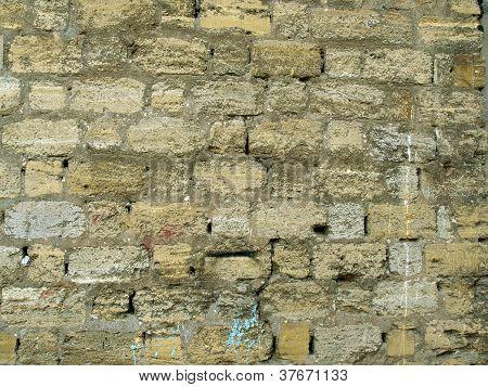 Coquina Wall