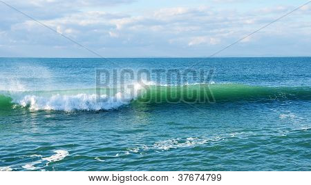 Wave With Foam