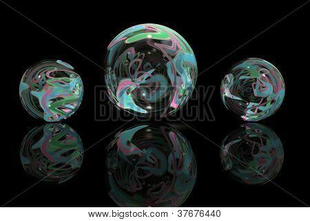 Multi-colored Marbles