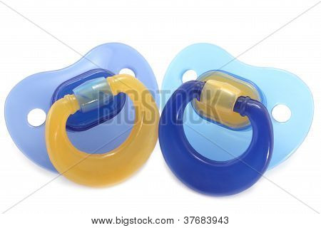 Two pacifiers