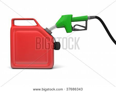 Bomba de gasolina e Jerry pode