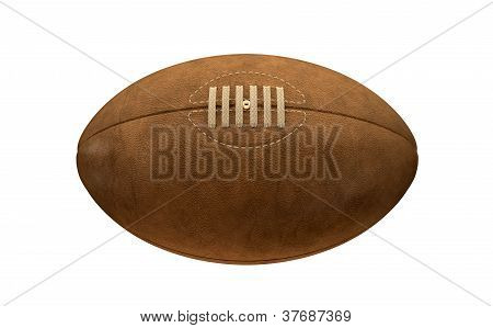 Old Classic Retro Rugby Ball