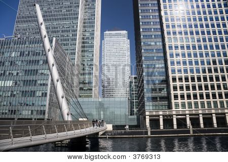 Walkway To London Docklands
