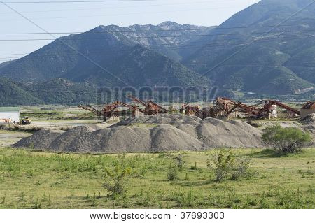 Sand Sieving Machinery