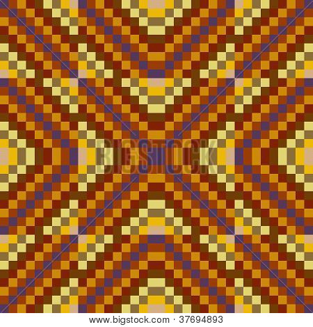 Seamless Retro Geometric Pattern