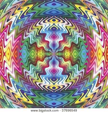 Native American vector pattern