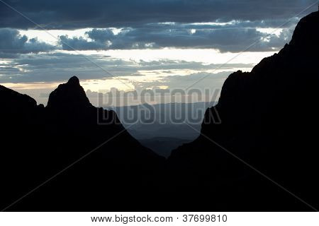 Chisos sunset