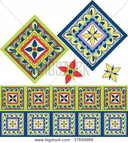 Mexican Fiesta Tiles