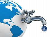picture of water well  - Water stocks on the earth - JPG