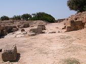 The north gate of the Phoenician colony of Motya