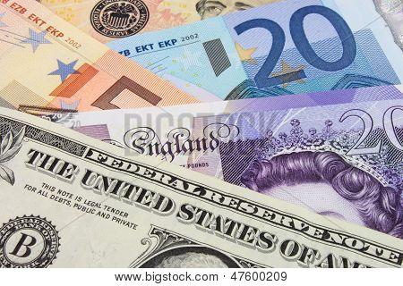 Currency Eu, Us &  Uk