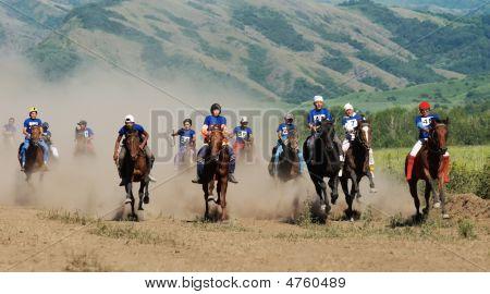 Bayga - Traditional Nomad Horses Racing