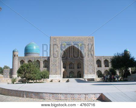 The Registan In Uzbekistan