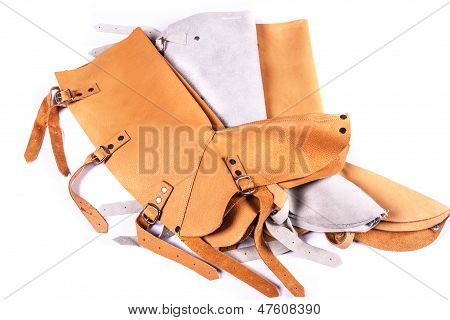 Leather Protection For Lower Leg