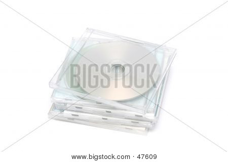 CD Jewel Case Stack I