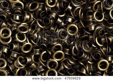 Pile Of Brass Eyelet