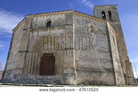 Veracruz Medieval Church, Ancient Templar Church In Segovia, Spain.