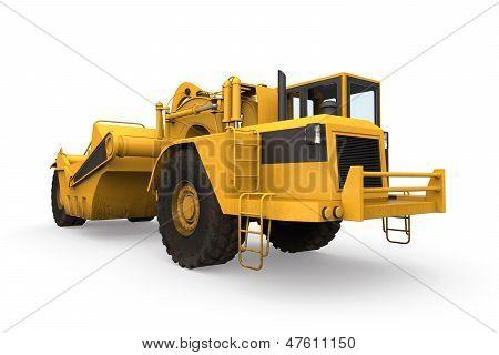 Rueda Tractor raspador