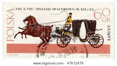 Vis-a-vis - Old Carriage