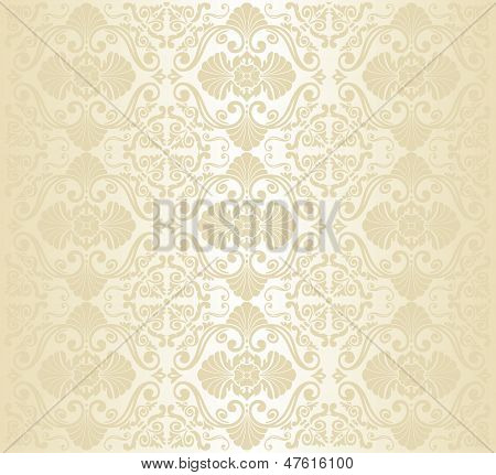 Gold invitation decorative vintage page background design