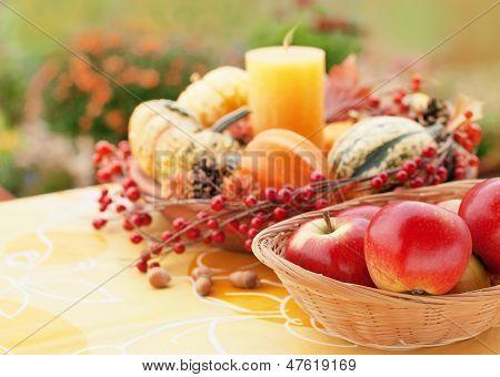 Autumn Garden Decor