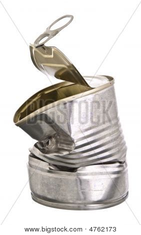 Crushed Tin Can