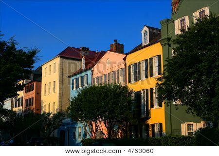 Linha de arco-íris de Charleston South Carolina